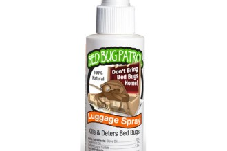 Bed Bug Luggage Spray in Dog