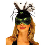 Black Widow Spider Cocktail Hat Costume , 9 Black Widow Spider Halloween Costume In Spider Category