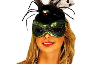 Black Widow Spider Cocktail Hat Costume , 9 Black Widow Spider Halloween Costume In Spider Category