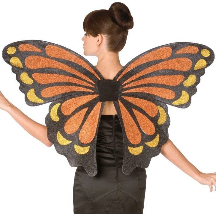 Butterfly , 9 Monarch Butterfly Wings Costumes : Butterfly Monarch Adult Wings Costume