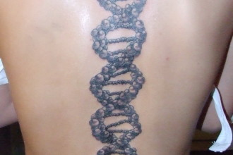 DNA Tattoos Designs And Ideas , 6 Dna Helix Tattoo In Cell Category