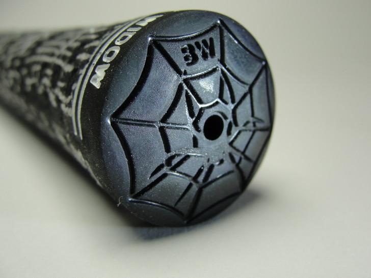Spider , 6 Black Widow Spider Golf Grips : Designer Spider Web Butt Cap