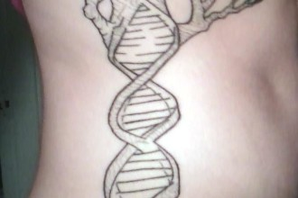 Dna Double Helix Tattoo , 6 Dna Helix Tattoo In Cell Category