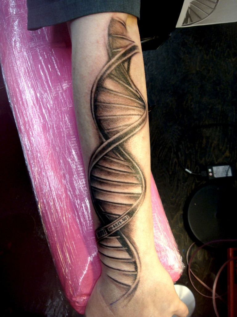 Dna Helix Tattoo