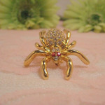 Faberge Black Widow Brooch Worth , 7 Faberge Black Widow Spider Brooch In Spider Category