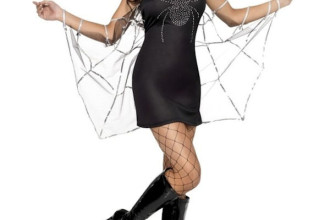 Fever Black Widow Costume , 9 Black Widow Spider Halloween Costume In Spider Category