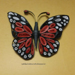 Quilled monarch butterfly Hobby Crafts , 9 Monarch Butterfly Craft In Butterfly Category