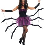 Ladies Black Widow Spider Halloween Fancy Dress Costume , 9 Black Widow Spider Halloween Costume In Spider Category