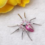 Luxurious Spider Black Widow , 7 Faberge Black Widow Spider Brooch In Spider Category