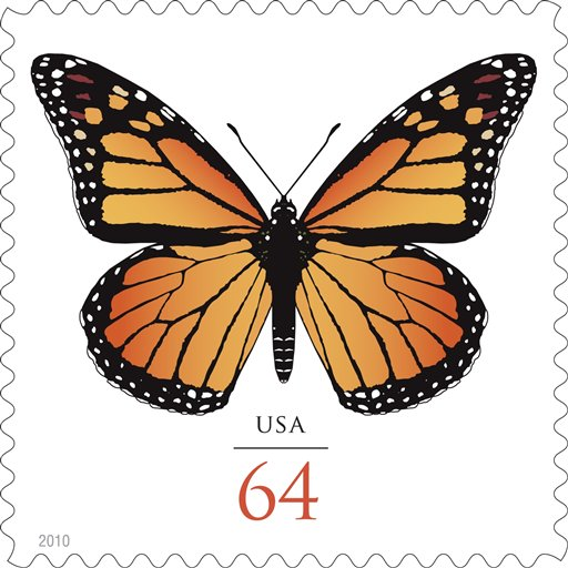 Monarch Butterflies Stamp 1