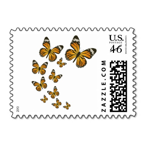 Butterfly , 7 Monarch Butterflies Stamp : Monarch Butterflies Stamp 2