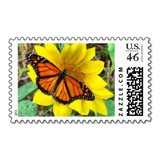 Butterfly , 7 Monarch Butterflies Stamp : Monarch Butterflies Stamp 4