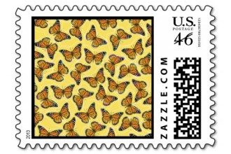 Monarch Butterflies Stamp  6 , 7 Monarch Butterflies Stamp In Butterfly Category