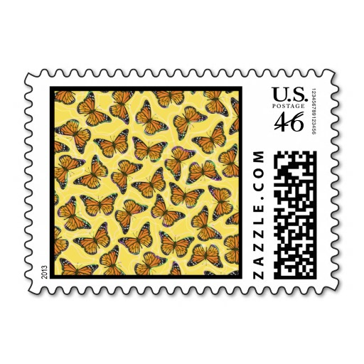 Butterfly , 7 Monarch Butterflies Stamp : Monarch Butterflies Stamp  6