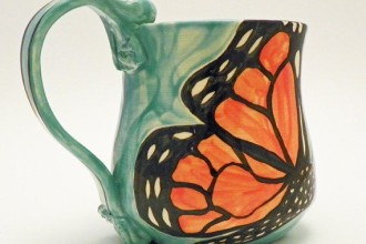 Monarch Butterfly Mug Ceramic , 8 Monarch Butterfly Gift Items In Butterfly Category