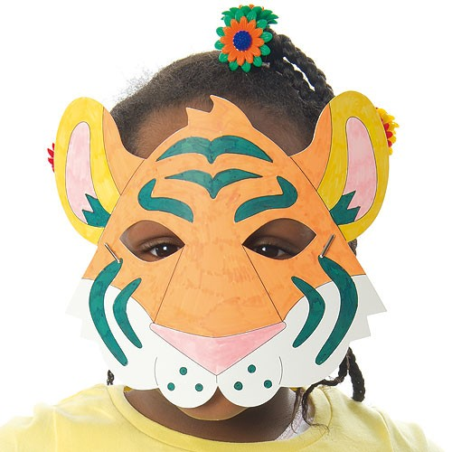 Rainforest Animal Colour in Masks