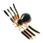 Vintage Brooch Black Widow Style , 7 Faberge Black Widow Spider Brooch In Spider Category