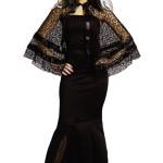 black wodiw adult capelet hallowen costume , 9 Black Widow Spider Halloween Costume In Spider Category