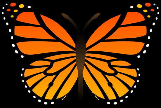 Butterfly , 10 Monarch Butterfly Clip Art : Monarch Butterfly Vector