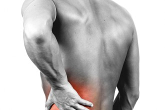 muscle pain in back in Spider