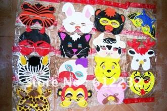 Rainforest Animal Face Masks , 6 Rainforest Animal Masks In Animal Category