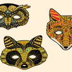 rainforest animal masks to make , 6 Rainforest Animal Masks In Animal Category