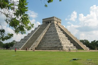 Chichen Itza in Butterfly