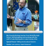 Emeritis Biology teacher from Wickliffe High School , 5 High School Biology Teacher In Scientific data Category