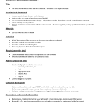 Formal Lab Report Format , 7 Formal Lab Report Template In Scientific data Category