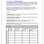 Population Biology , 5 Virtual Population Lab In Scientific data Category