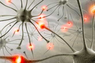 Synapse Neurons Wallpaper in Laboratory