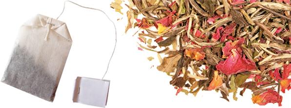 Plants , 5 Tea Bag Vs Loose Leaf : Tea Bags Vs Loose Leaf Tea