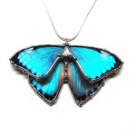 blue morpho butterfly jewelry , 7 Blue Morpho Butterfly Necklace In Butterfly Category