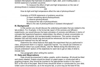 how to write a lab report biology examples Lab report guide: how to write in the format of a scientific paper sarah deel, carleton college biology department, january 2006 how to use this guide.