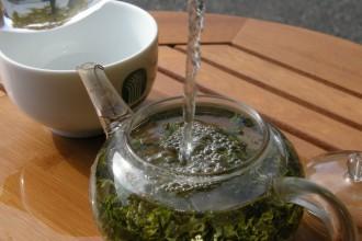 making tea in Primates