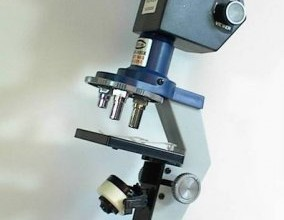 micron microscope in Laboratory