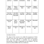 scope of work template , 6 Science Icebreaker Activities In Spider Category