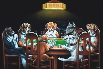 Dogs Playing Poker & Pool , 6 Best Picture Of Dogs Playing Poker In Dog Category