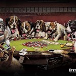 Dogs playing poker , 6 Best Picture Of Dogs Playing Poker In Dog Category