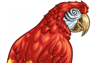 PARROT CLIP ART , 7 Nice Parrot Clipart In Birds Category