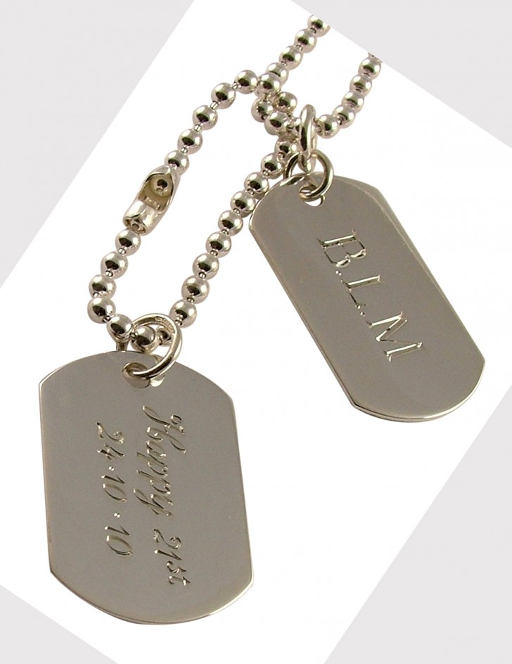 Dog , 6 Top Picture Engraved Dog Tags : Pendant Jewelry
