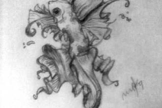 Koi Fish Drawing , 8 Good Koi Fish Drawings In pisces Category