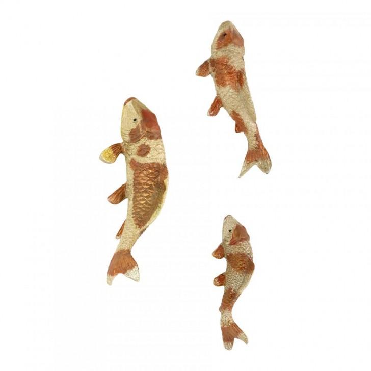 Small koi fish sculpture 8 gorgeous koi fish statues for Koi fish statue