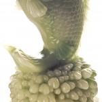 chinese fish , 8 Gorgeous Koi Fish Statues In pisces Category
