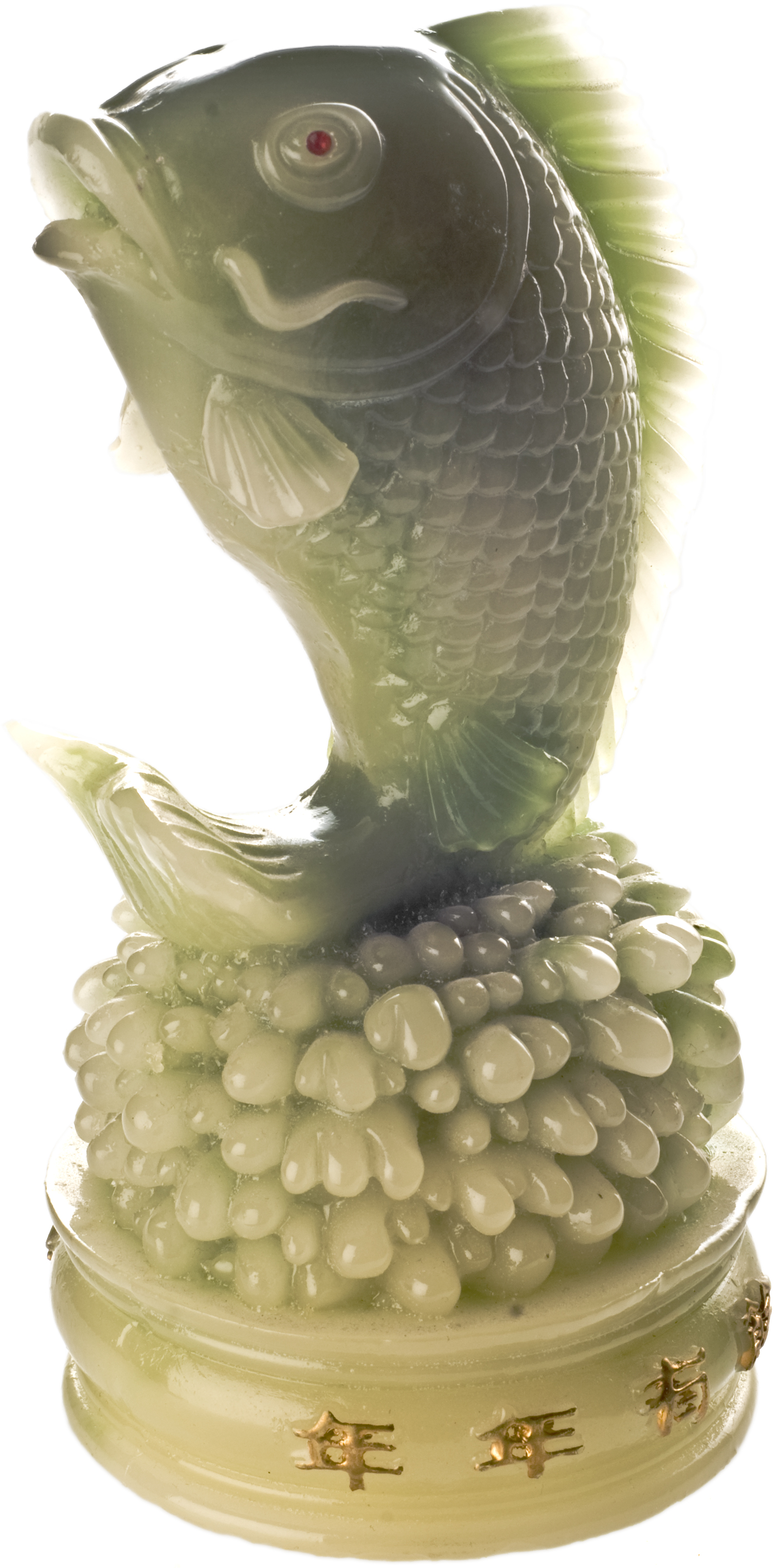 Chinese fish 8 gorgeous koi fish statues biological for Chinese koi fish