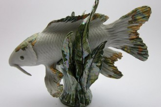 Garden Decoration , 8 Gorgeous Koi Fish Statues In pisces Category