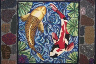 Inexpensive Area Rugs , 9 Charming Koi Fish Rug In pisces Category