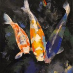 koi fish pond , 5 Beautiful Koi Fish Prints In pisces Category