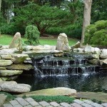 koi fish ponds , 8 Charming Koi Fish Ponds Designs In pisces Category