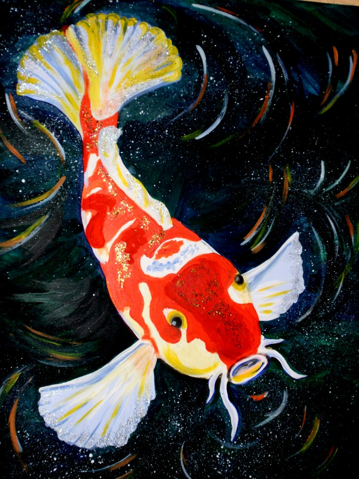pisces , 7 Lovely Koi Fish Life Span : Koi Fish